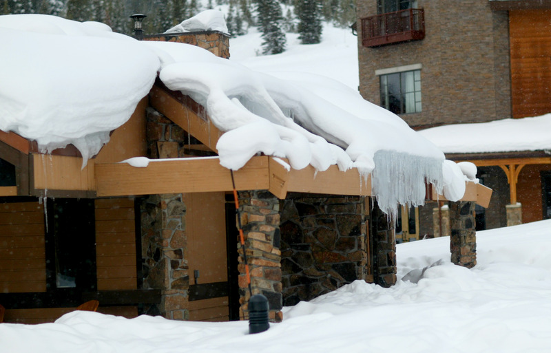 Schnee-Haus